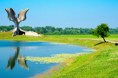 Jasenovac WWII memorial Royalty Free Stock Images