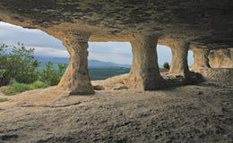 jaskinia klasztoru do świątyni Zdjęcie Royalty Free