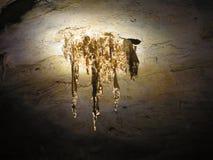 jaskinia stalagmity Obraz Stock