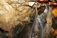 jaskinia w środku Obraz Royalty Free