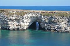 jaskinie morza Obraz Stock