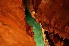 jaskinie nad jezioro zdjęcie royalty free