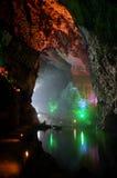 jaskinie nad jezioro Obrazy Stock