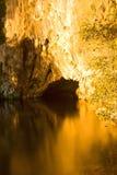 jaskinie wody Zdjęcia Stock