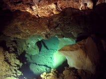 jaskiniowy sopleniec obrazy stock