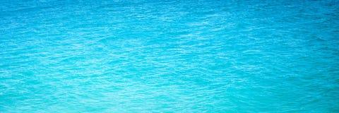 Jaskrawa Błękitna ocean woda zdjęcie royalty free