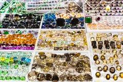 Jaskrawa biżuteria i klejnoty zdjęcie royalty free