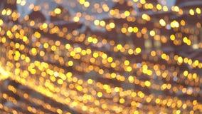 Jaskrawa Bo?enarodzeniowa Uliczna iluminacja Miasto Dekoruje dla Christmastide wakacje Nowy Rok ?wiate? Dekorowa? zbiory