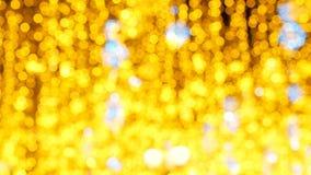 Jaskrawa Bo?enarodzeniowa Uliczna iluminacja Miasto Dekoruje dla Christmastide wakacje Nowy Rok ?wiate? Dekorowa? zbiory wideo