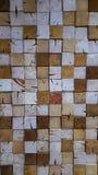 Jaskrawa drewniana ściana Obraz Stock