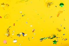 Jaskrawa kolorowa karnawału lub przyjęcia scena fotografia stock