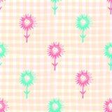 Jaskrawa, kolorowa karta z kwiatami, Romantyczny tło dla stron internetowych, ślubni zaproszenia, save daktylowe karty ilustracji
