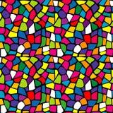 Jaskrawa mozaiki tekstura Zdjęcia Stock
