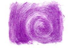 Jaskrawa purpurowa pomadka mażąca w postaci spirali zdjęcia royalty free