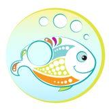 Jaskrawa ryba Fotografia Stock