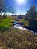 Jaskrawa rzeka Fotografia Stock