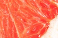 Jaskrawa soczysta grapefruitowa braja w g?r? fotografia stock