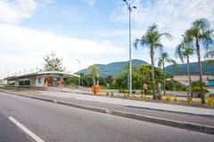 Jaskrawa stacja w Rio Obraz Royalty Free
