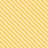 Jaskrawego żółtego lato koloru dekoracyjny diagonalny tło robić od linii wektor bezszwowy wzoru Obrazy Royalty Free