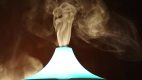 Jaskrawego neonowego aromata lampowy bogactwo dymi zbiory
