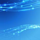 Jaskrawego prędkości bandwidth elektryczny tło royalty ilustracja