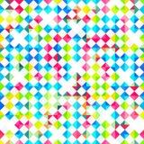 Jaskrawego rhombus bezszwowy wzór Fotografia Royalty Free