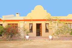Jaskrawego wakacje domu luksusowy kurort, Namibia Obraz Royalty Free