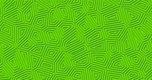 Jaskrawej matte zieleni geometryczny tło zbiory
