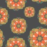 Jaskrawej mozaiki bezszwowy wzór Zdjęcie Stock