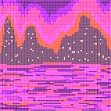 Jaskrawi biegunowi światła Obraz Stock