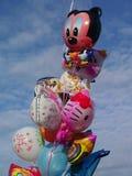 Jaskrawi dziecko balony Zdjęcia Royalty Free