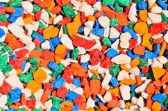 Jaskrawi kolorowi kamienie Fotografia Stock