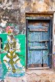 Jaskrawi kolory Indiański uliczny życie Południowy India, tamil nadu Fotografia Royalty Free