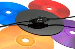 jaskrawi kolory muzyczni Zdjęcie Royalty Free