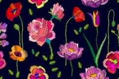 Jaskrawi kwitnienie kwiaty Fotografia Stock