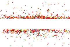 Jaskrawy świąteczny tło multicolor cukierek zdjęcia royalty free