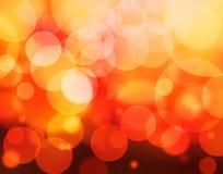 jaskrawy światła Zdjęcia Royalty Free