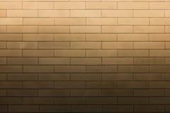 Jaskrawy światło na tekstury ściana z cegieł wzorze Zdjęcia Royalty Free