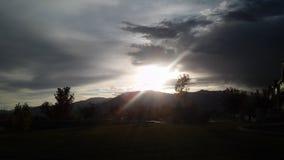jaskrawy światło słoneczne Obrazy Royalty Free