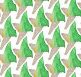 Jaskrawy, abstrakcjonistyczny bezszwowy wzór robić z drzejącym barwionym papierem, ilustracja wektor