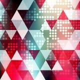 Jaskrawy abstrakcjonistyczny geometryczny barwiony tło dla twój projekta Zdjęcie Royalty Free