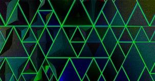 Jaskrawy abstrakcjonistyczny mozaika wzór tła bożych narodzeń zieleni ilustracyjni drzew życzenia Dla projekta i dekoruje tło Cer ilustracja wektor