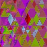 Jaskrawy abstrakcjonistyczny mozaika wzór Wektorowy tło Dla projekta i dekoruje tło Ceramicznej płytki czerepy Kolorowe łamać pły royalty ilustracja