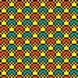 Jaskrawy abstrakcjonistyczny nowożytny bezszwowy zaszywanie wzór Obrazy Stock