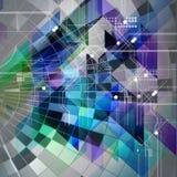 Jaskrawy abstrakcjonistyczny tło Zdjęcie Royalty Free