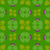 Jaskrawy Abstrakcjonistyczny Tapetowy Bezszwowy rocznika kwiatu wzór Zdjęcie Royalty Free