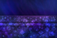 Jaskrawy błękitny abstrakcjonistyczny tło Zdjęcia Stock