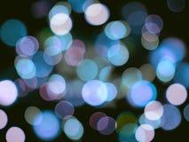 Jaskrawy błękitny jarzy się zamazany round błękit zaświeca wibrującego tło ilustracji