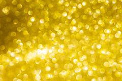 Jaskrawy błyszczący złoty bokeh tło Zdjęcie Royalty Free