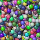 Jaskrawy barwiący geometrical tło Zdjęcia Royalty Free